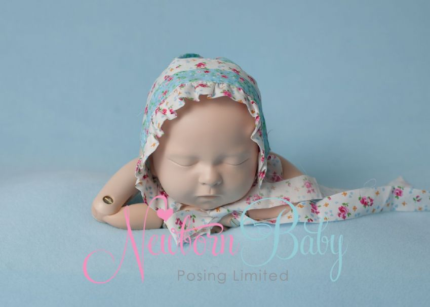 Blue Blanket Backdrop | Newborn Baby Posing Limited